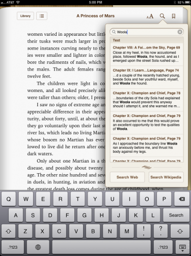 how to get ibooks to read to you