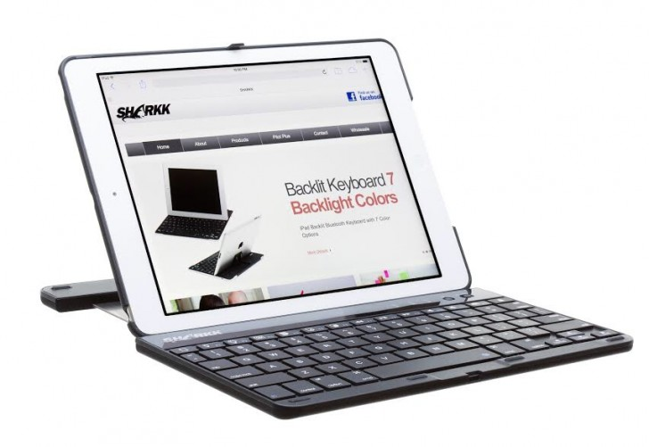 Sharkk Keyboard Folio for iPad Air