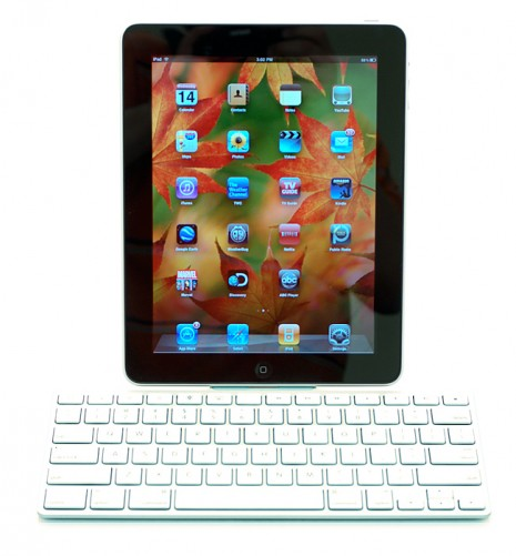 Apple iPad with Keyboard