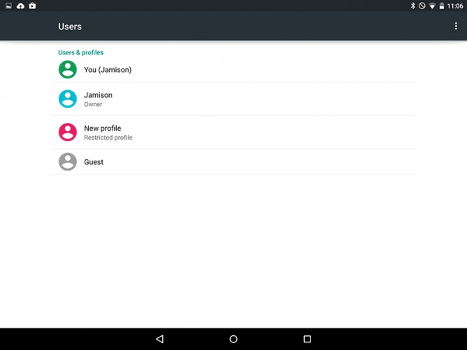 Android 5.0 Lollipop Guest Accounts