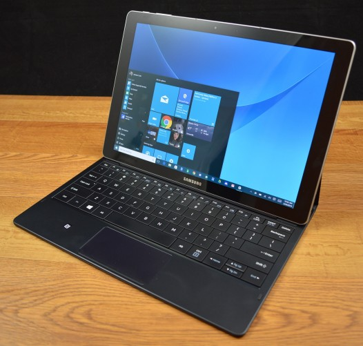 The Samsung Galaxy TabPro S is a high-end Windows 10 two-in-one.