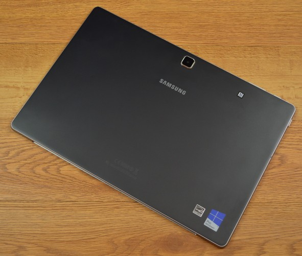 The Samsung Galaxy TabPro S has a 5-megapixel rear camera.