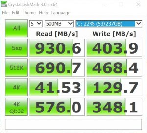 Lenovo ThinkPad X1 Yoga Benchmark