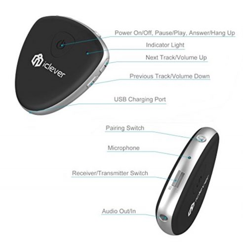 iClever F56 Bluetooth Transmitter Receiver