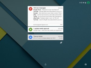 Android 5.0 Lollipop Notifications
