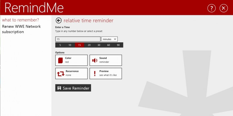 how to set hourly reminders on windows