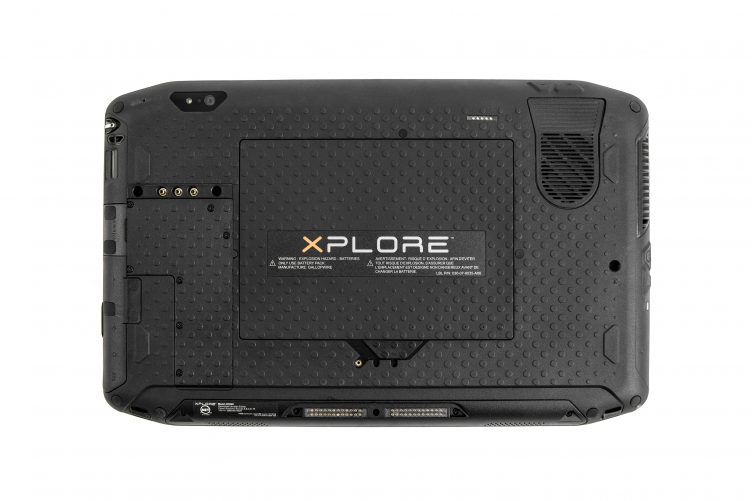 Xplore XSLATE R12 back panel