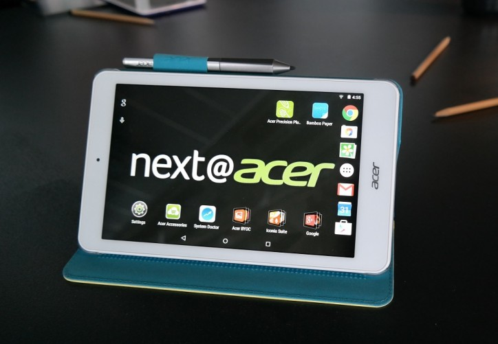 Acer Iconia 8 Android tablet