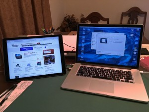 iPad Pro as External Monitor for MacBook Pro