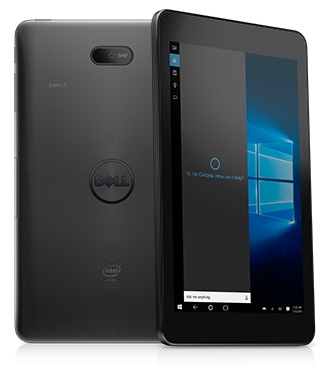 Dell Venue 8 Pro 5855 -- Front and Back