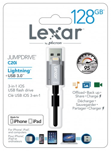 Lexar JumpDrive C20i Review -- Packaging