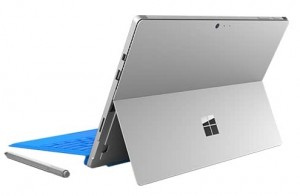 Microsoft Surface Pro 4Microsoft Surface Pro 4 -- Rear View