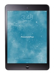 FreedomPop on an iPad mini