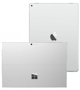 iPad Pro and Surface Pro 4