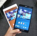 Sony Xperia Z3 Tablet Compact in Black and White