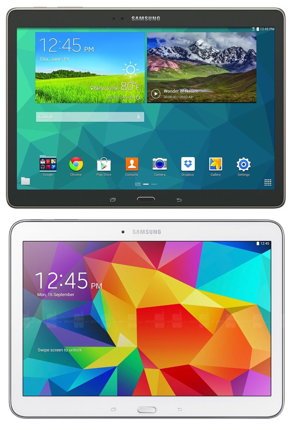 samsung galaxy tab s 10 5 vs samsung galaxy tab 4 10 1. Black Bedroom Furniture Sets. Home Design Ideas