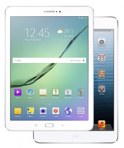 Galaxy Tab S2 9.7 Narrowly Beats iPad Air 2