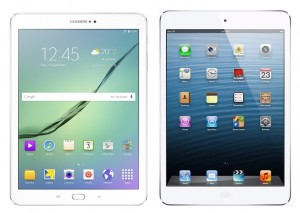 Galaxy Tab S2 9.7 and iPad Air 2