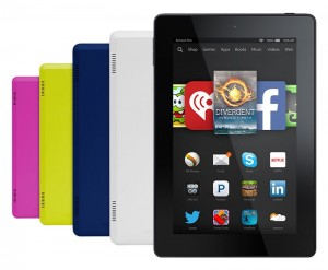 Amazon Fire HD 7 in Five Colors