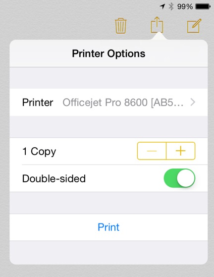 android airprint support