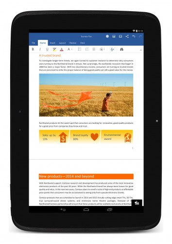 Microsoft office for android tablets now available for 126 incorrect key file for table