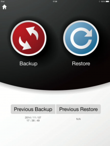 i-FlashDrive ONE Backup and Restore