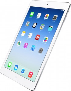 iPad Air 2 with iOS 8