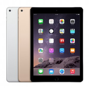 iPad Air 2 in Three Colors