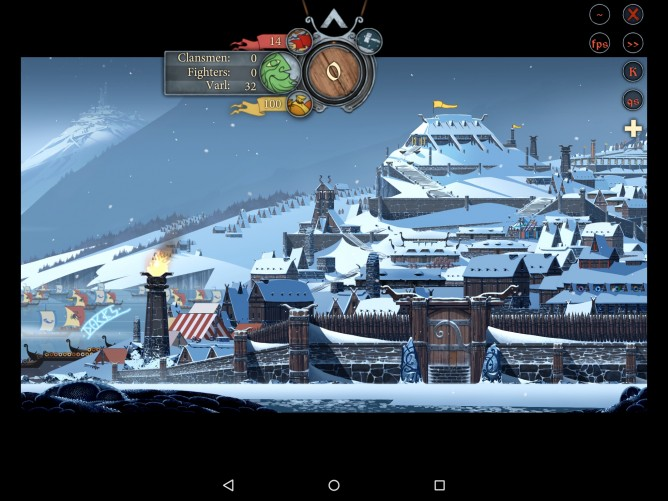 The Banner Saga on Android