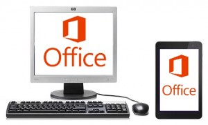 Microsoft Office on Tablet and PC