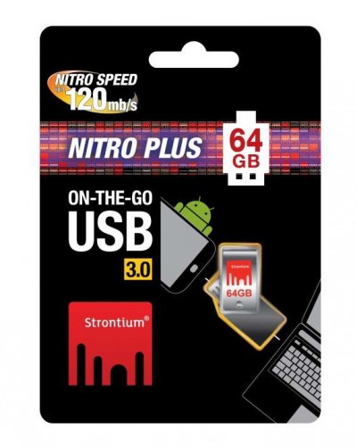 Strontium On-The-Go USB 3.0 Flash Drive Packaging