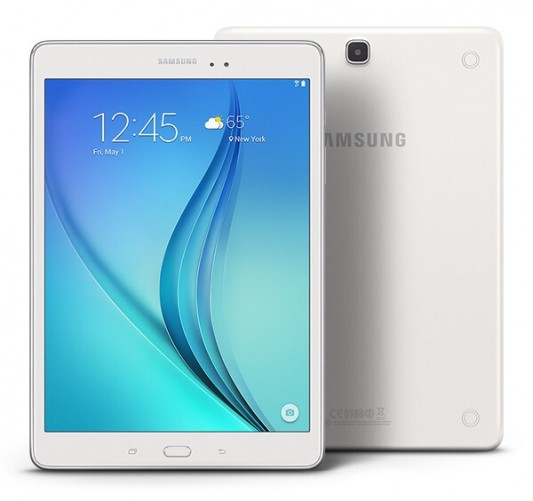 Samsung Galaxy Tab A 9.7 -- Front and Back