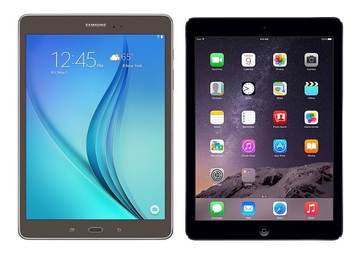 samsung galaxy tab a 9 7 vs apple ipad air