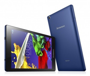Lenovo TAB 2 A8 -- Front, Back, and Sides