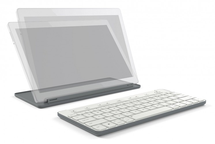 Universal Mobile Keyboard in White