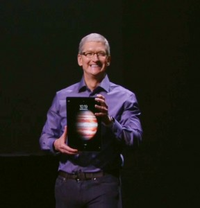 Tim Cook and iPad Pro
