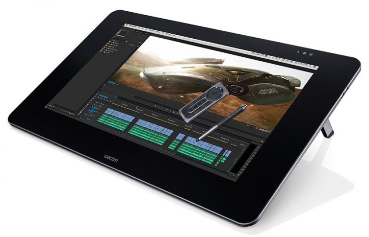 Wacom Cintiq with active pen technology