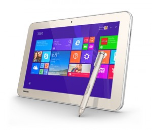 The Toshiba Encore 2 Write is as close as you can get to paper on a tablet.